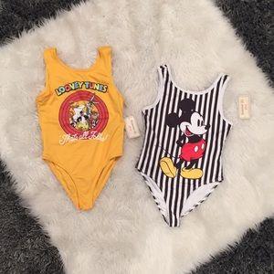 Bodysuits/ Bathing suits
